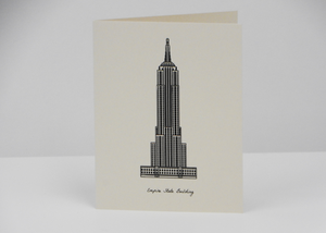 Sutta | Greeting Cards | New York Theme - Blue New York