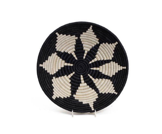 10'' Medium black hope round basket