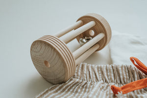 Rolling Bell Rattle