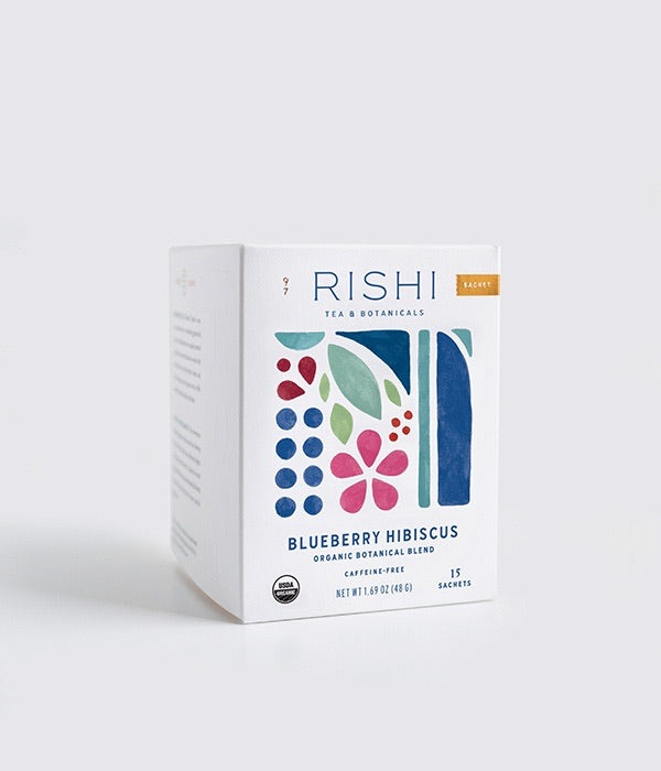 RISHI - Blueberry and Hibiscus