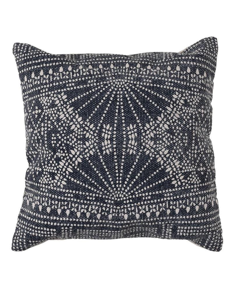 Indigo batik pillow