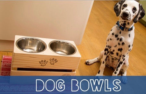 Stainless Steel Crate Bowl Stand set