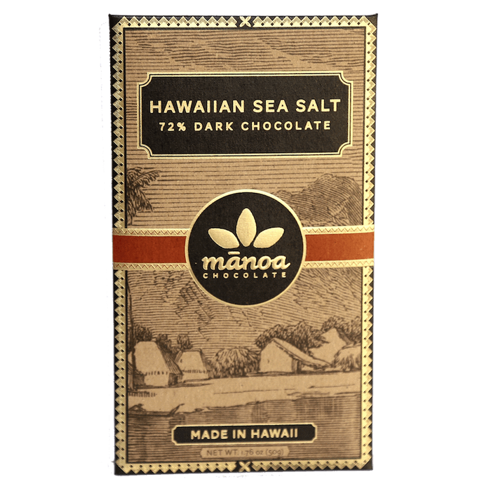 Manoa - Hawaiian sea salt 72%