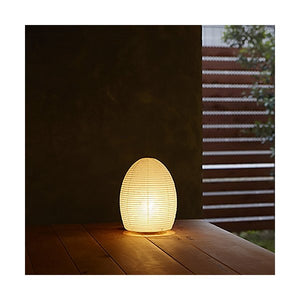 Paper moon egg table lamp