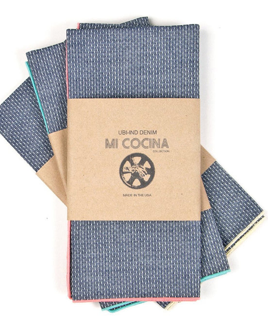 Dobby chambray napkin - 2 colors