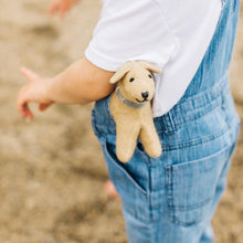 Load image into Gallery viewer, Hand Felted Small Golden Retriever Puppy