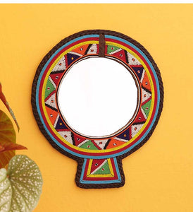 UNIQUE HAND-BEADED MAASAI MIRRORS - 2 colors
