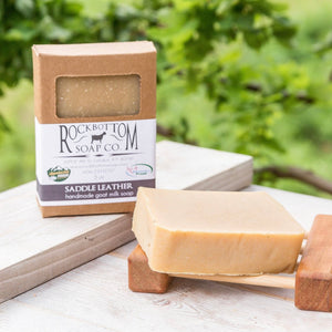 Saddle Leather Goat Milk Soap