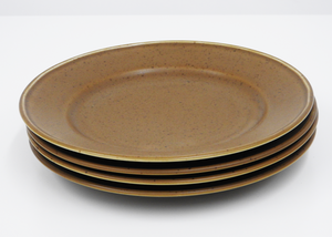 Manses Design | Small Plate | Dark Brown - Blue New York