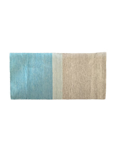 Ombre Rug in Azul and Grey - Blue New York
