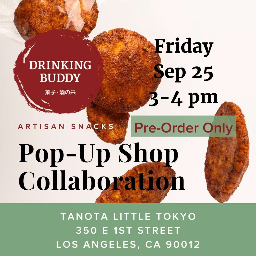 Pop-Up Event: Tanota Little Tokyo | Friday, September 25, 2020 | 3:00pm - 4:00pm