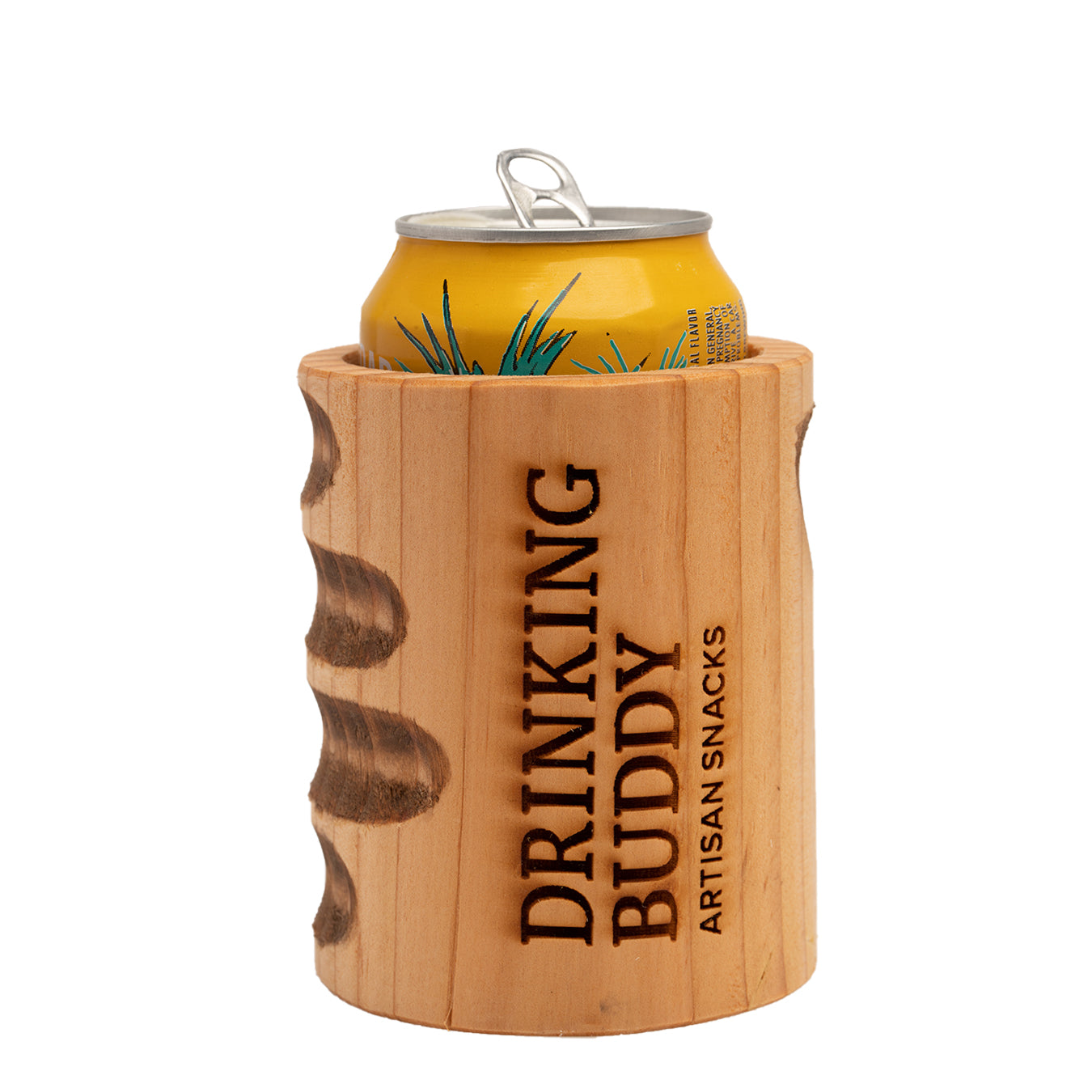 Drinking Buddy Wooden Beverage Insulator