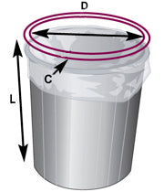 For a Round Container