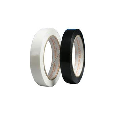 1 in x 60 yds Tensilized Black Poly Strapping Tape 72/CTN - Plastic Bag Partners-Tape - Poly Strapping Tape