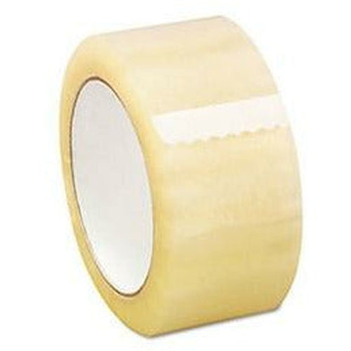 Clear Acrylic Tape 2 x 110 yds x 2.5 mil - 36/CTN - Plastic Bag Partners-Tape - Acrylic Tape
