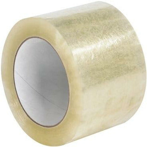 Clear Acrylic Tape 3 x 55 yds x 1.7 mil - 24/CTN - Plastic Bag Partners-Tape - Acrylic Tape