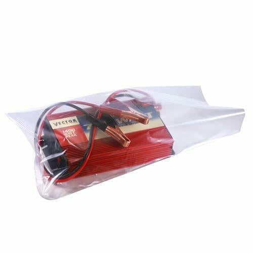 Clear Flat Poly Bags on a Roll. 24 x 30 x 8 mil - Plastic Bag Partners-Flat Poly Bags - Rolls