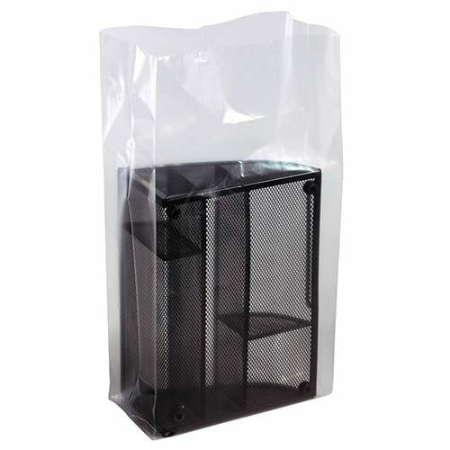 Clear Gusseted Bags on a Roll. 32 x 28 x 48 x 2 mil - Plastic Bag Partners-Gusseted Poly Bags - Rolls
