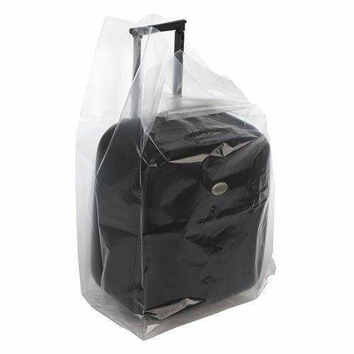Clear Gusseted Poly Bags. 20 x 20 x 48 x 4 mil - Plastic Bag Partners-Gusseted Poly Bags