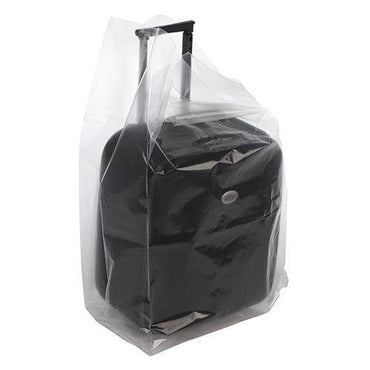 Clear Gusseted Poly Bags. 22 x 16 x 58 x 6 mil - Plastic Bag Partners-Gusseted Poly Bags