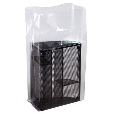 Clear Gusseted Poly Bags 5 x 2 x 12 x 2 mil - Plastic Bag Partners-Gusseted Poly Bags