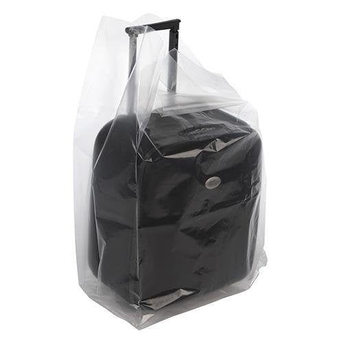 Clear Gusseted Poly Bags 8 x 4 x 16 x 6 mil - Plastic Bag Partners-Gusseted Poly Bags