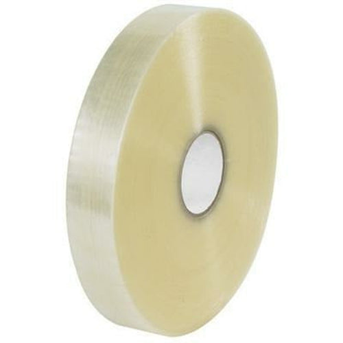 Clear Machine Acrylic Tape 3 x 1000 yds x 2 mil - 4/CTN - Plastic Bag Partners-Tape - Acrylic Tape