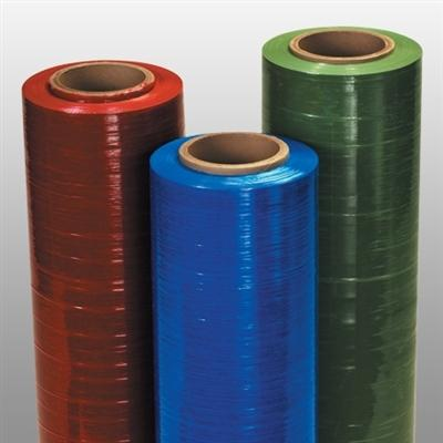 Hand Pallet Wrap Stretch Film - Dark Purple - 18 in x 1500 ft x 80 ga - Plastic Bag Partners-Stretch Film - Colored