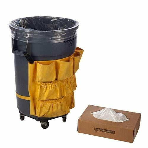 HDPE Trash Bags & Can Liners 30 x 37 x 13 MIC 500/CTN - Plastic Bag Partners-Liners - Trash Can Liners
