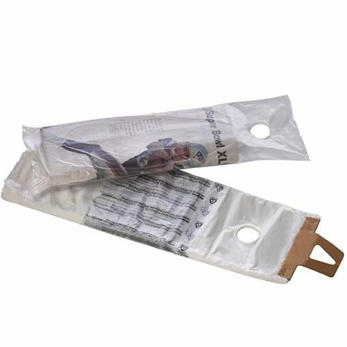"High Density Newspaper Bags (Door Knob Hole) - 6"" x 16"" + 1.5"" Lip - Plastic Bag Partners-Newspaper Bags"