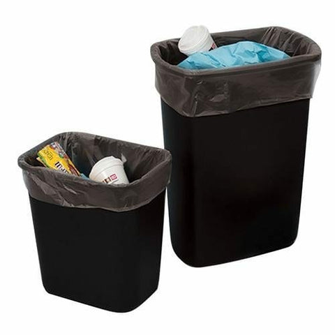 LDPE Trash Bags & Can Liners 7-10 Gallon