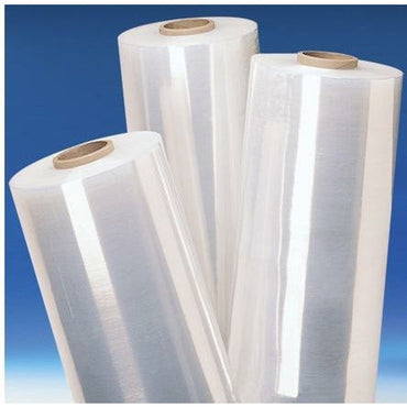 Pre-Stretched Cast Stretch Film Wrap - 15.5 in x 1500 ft - 28 ga- 4 Rolls - Plastic Bag Partners-Stretch Film - Pre-Stretched