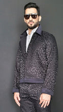 Load image into Gallery viewer, Tristan Harrington leopard jacquard jacket