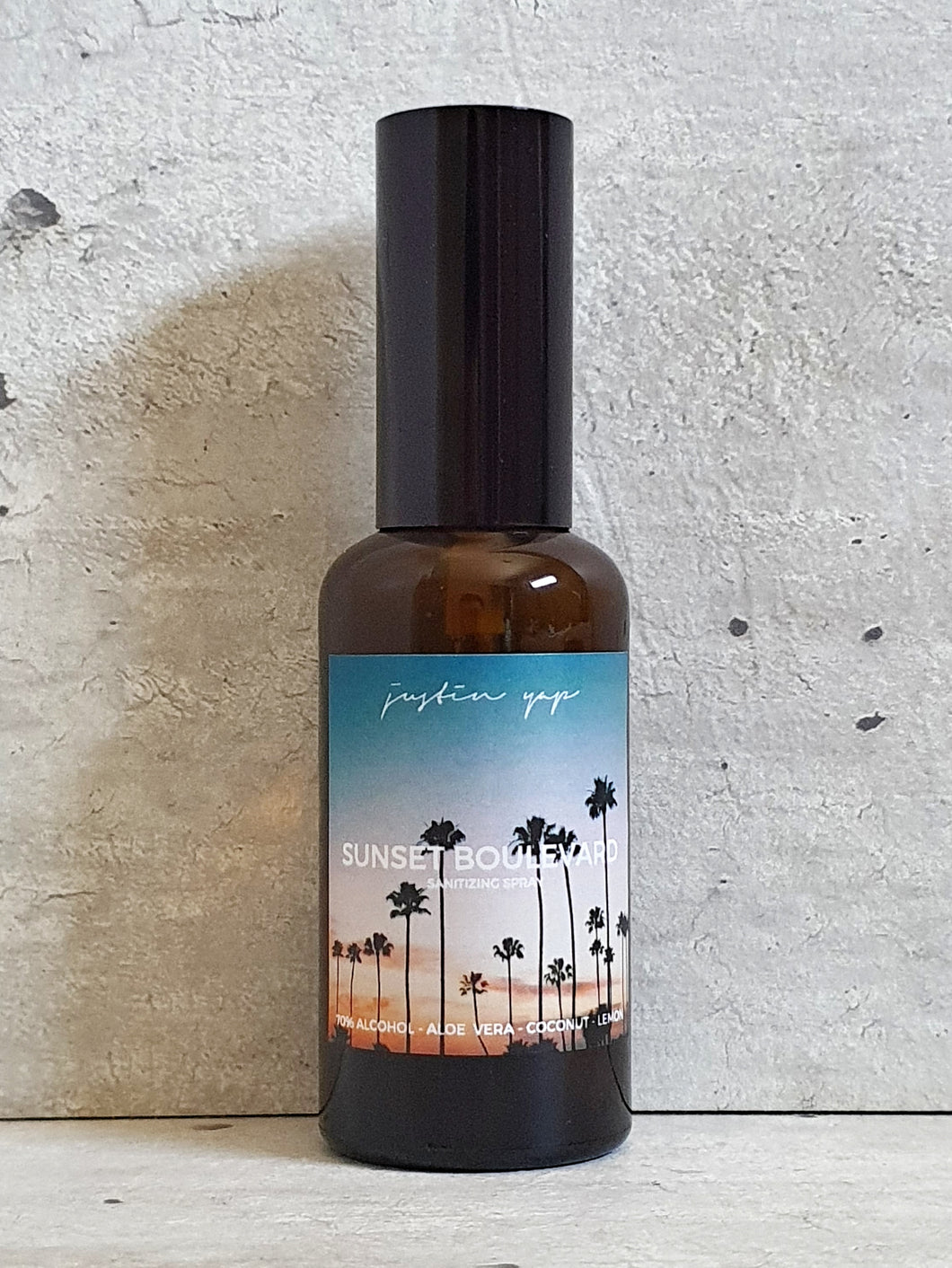 Sunset Boulevard Sanitizing Spray - Coconut / Lemon