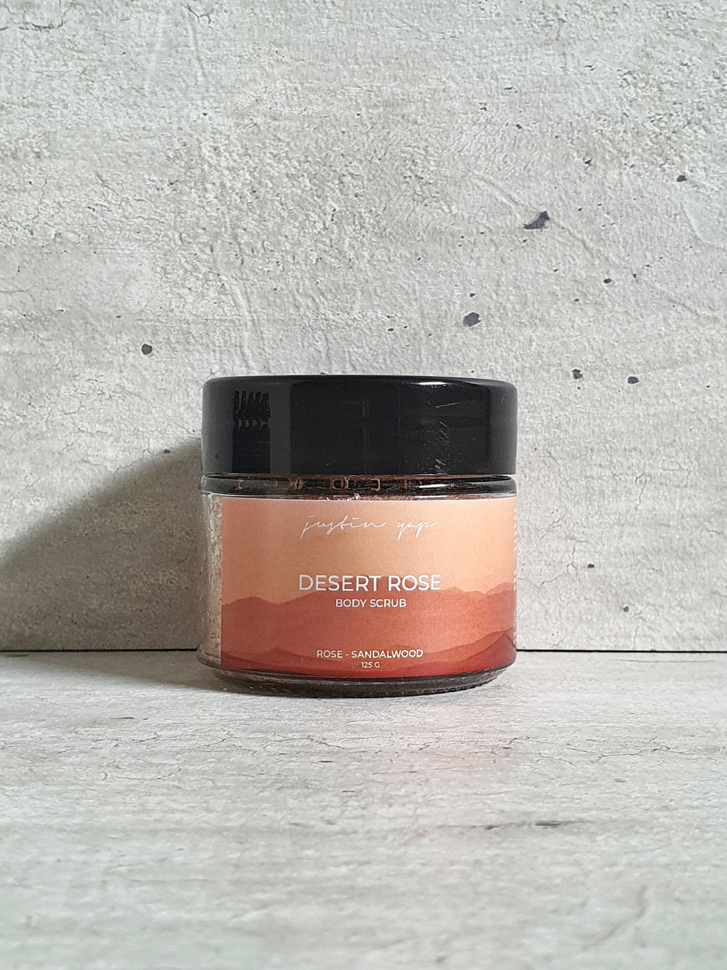 Desert Rose Body Scrub - Rose / Sandalwood