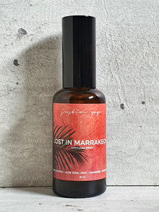 Lost In Marrakech Sanitizing Spray - Mint / Tangerine / Cinnamon