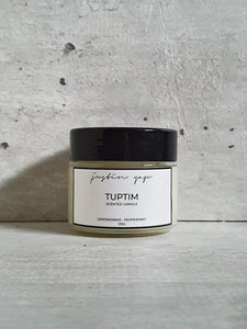 Tuptim Soy Wax Candle - Lemongrass / Peppermint