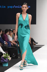 BIANCA TURQUOISE FLY-AWAY DRESS