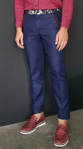 Henry slim cotton pants