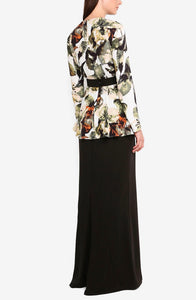 Ixora straight cut Kurung