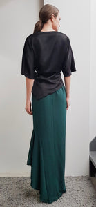 GIULIANA EMERALD LONG SKIRT