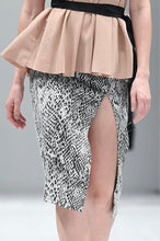 Load image into Gallery viewer, PIA PYTHON PRINT SKIRT