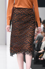 Load image into Gallery viewer, LILY CORDED LACE SKIRT
