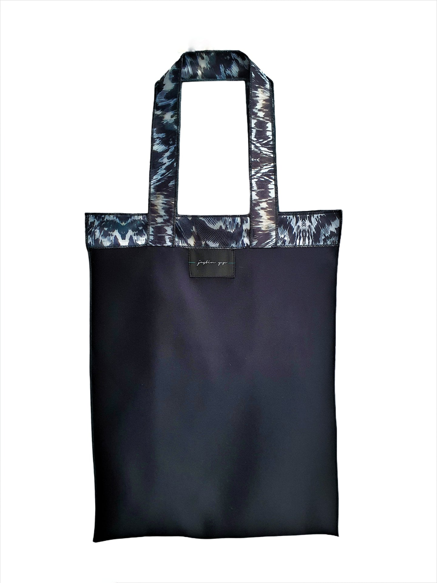 Duchess Satin Shopping Tote
