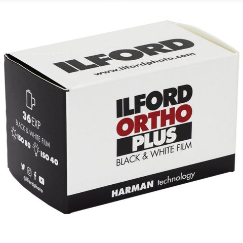 Ilford Ortho Plus 80, 35mm
