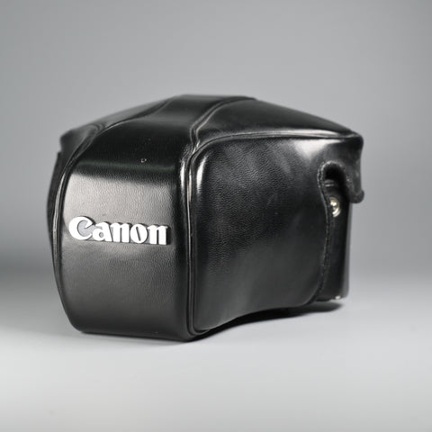Canon Camera Leather Case