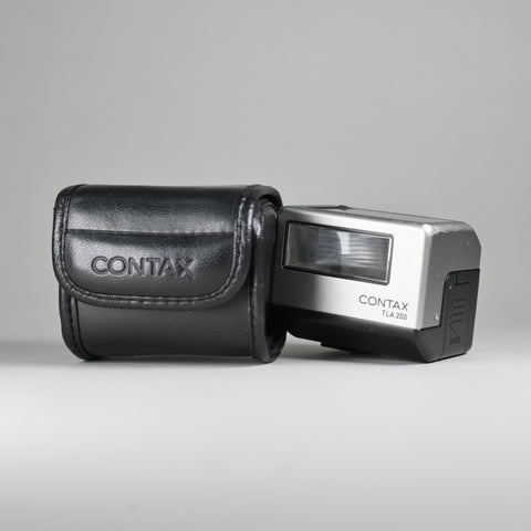Contax TLA 200 Flash (With Leather Case)