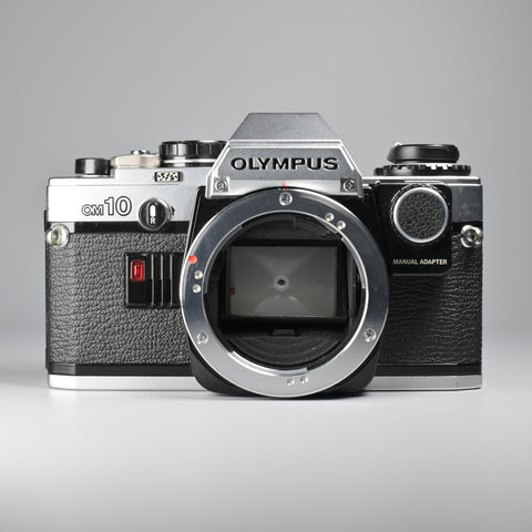 Olympus OM10 Body Only (With Manual Adapter)
