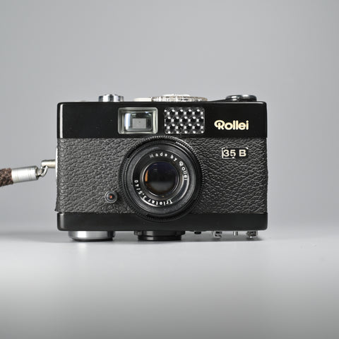 Rollei 35 B Black (With Leather Case)