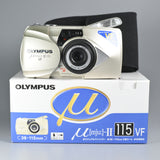 Olympus Mju II 115 VF (Brand New Box Set)
